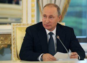 Владимир Путин утвердит программу «Единой России» на ближайшие пять лет. Фото: Михаил Климентьев/РИА Новости.