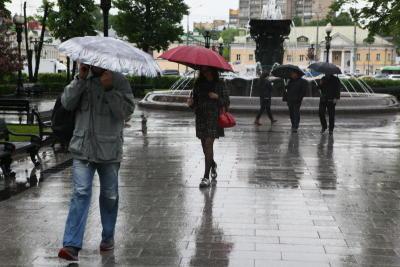 День России будут праздновать под дождем