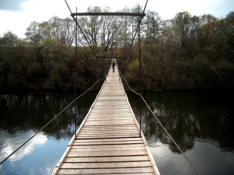 Подвесной мост построят в парке Сокольники