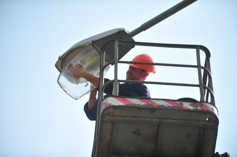 В Новой Москве установят более двух с половиной тысяч фонарей
