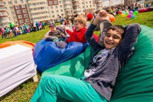 Интерактивный город детства «построили» в Новых Ватутинках. Фото предоставила пресс-служба организатора