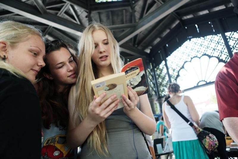 Библиотеки Новой Москвы приглашают в летнюю читальню фестиваля