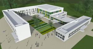 Проект школы в поселении Новофедоровское. Фото предоставлено пресс-службой Департамента образования