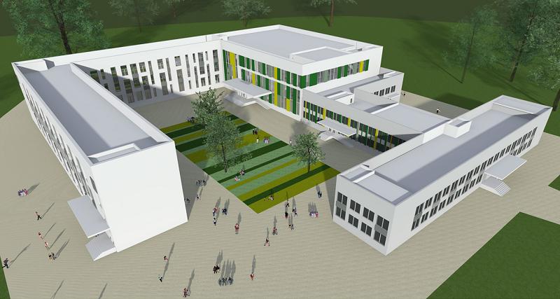 Архитектурный облик школ Новой Москвы: утверждены проекты двух зданий