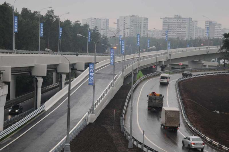 Эстакады и тоннели возведут на Калужском шоссе