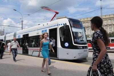 Скоростной трамвай могут запустить в Новой Москве