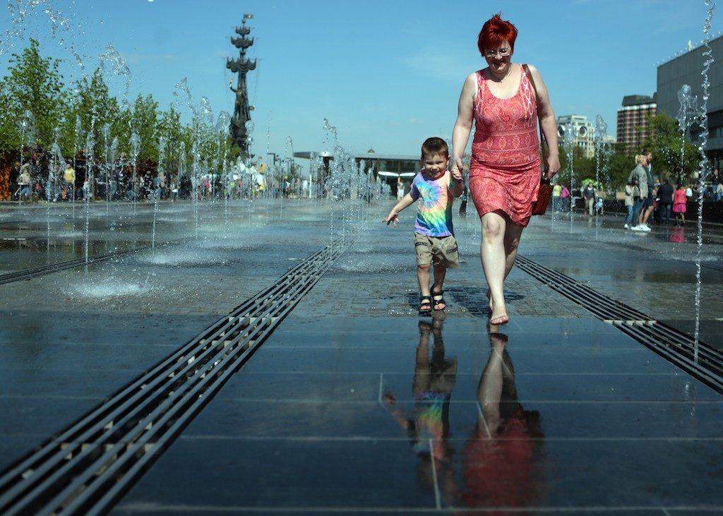 Москву ждет потепление. Фото архивное.