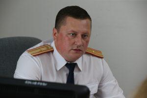 14 июля 2016 года. Коммунарка. Владимир Пенязев, руководитель следственного отдела по ТиНАО