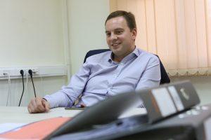 Алексей Кондаранцев, зампрефекта ТиНАО по вопросам торговли и услуг (фото сделано 21 сентября 2015 года).
