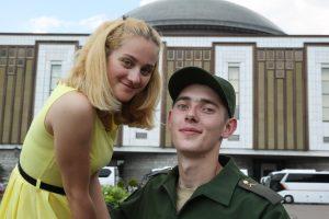 2 июля 2016 года. Москва. Анна Игнатова и Григорий Глушаков