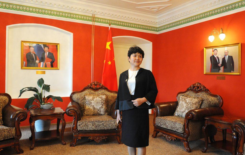 13 июля 2016 года. Первомайское. Советник по культурепосольства КНР в России госпожа Чжан Чжунхуа