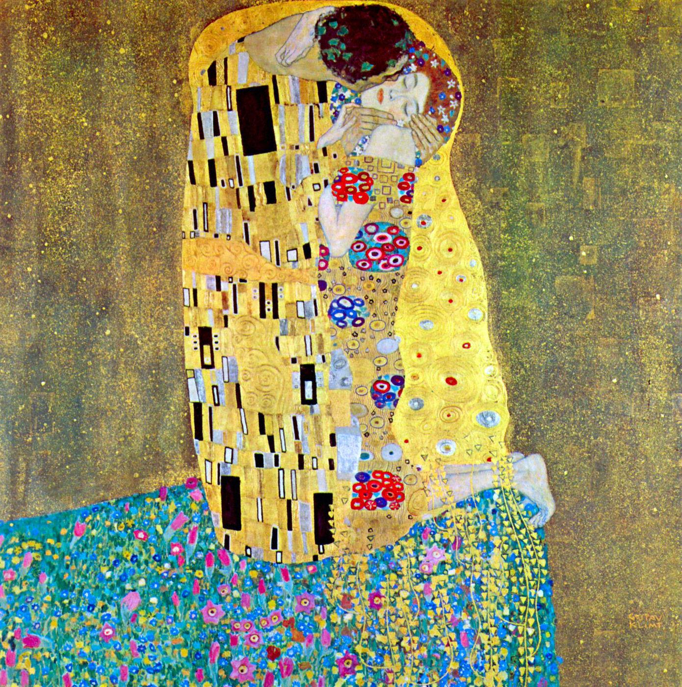 Поцелуй в живописи