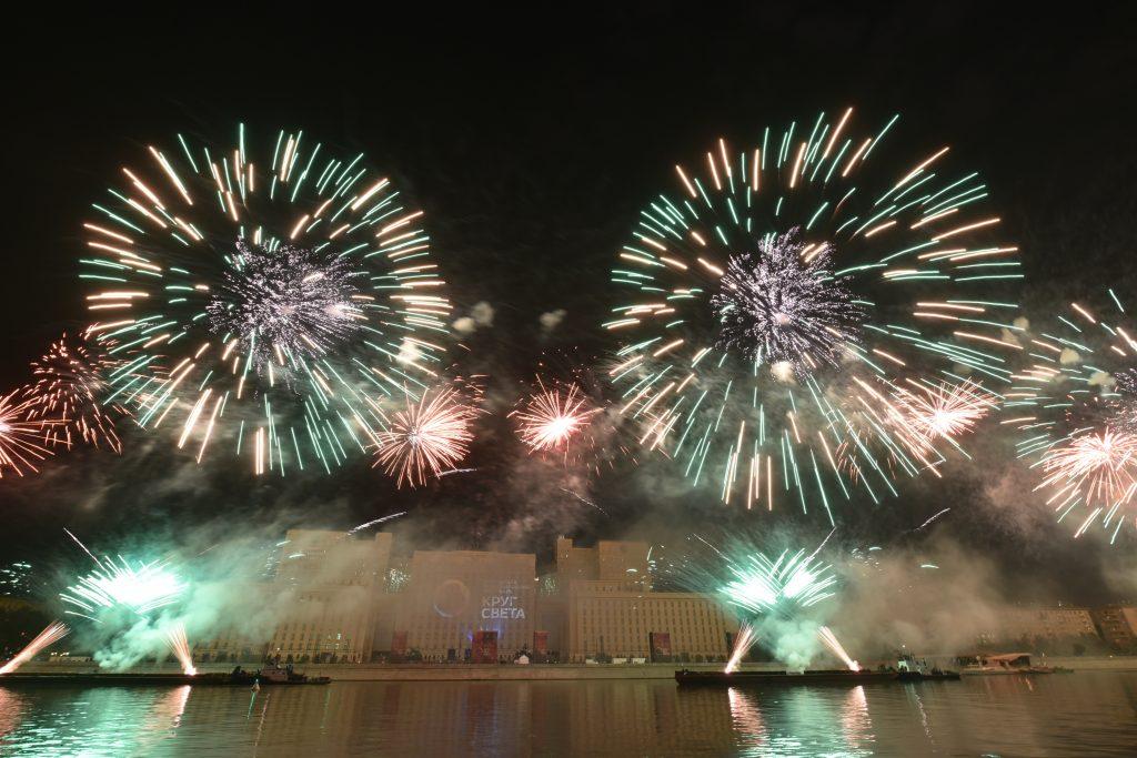 В Москве пройдет II Международный фестиваль фейерверков