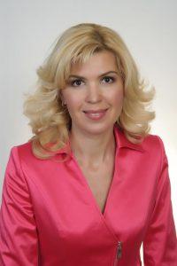 Замдиректора УФПС Московской области, филиала ФГУП «Почта России» Марина Дуденкова.