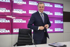 Владимир Жидкин, руководитель Департамента развития новых территорий Москвы