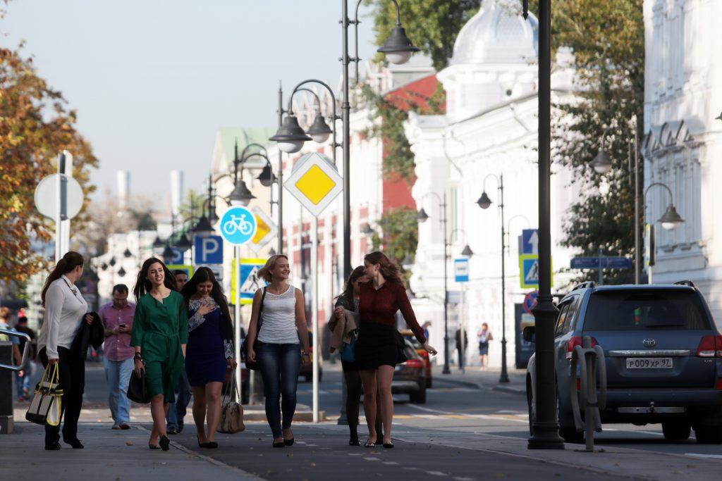 За полгода население столицы увеличилось на 300 тысяч человек