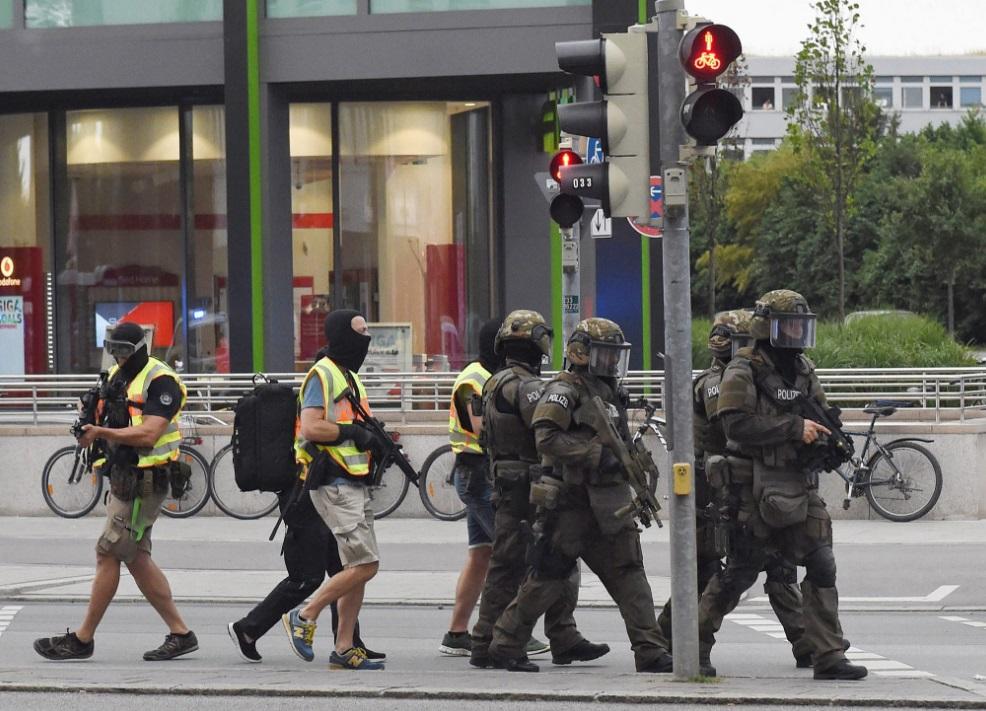 В Мюнхене произошла стрельба
