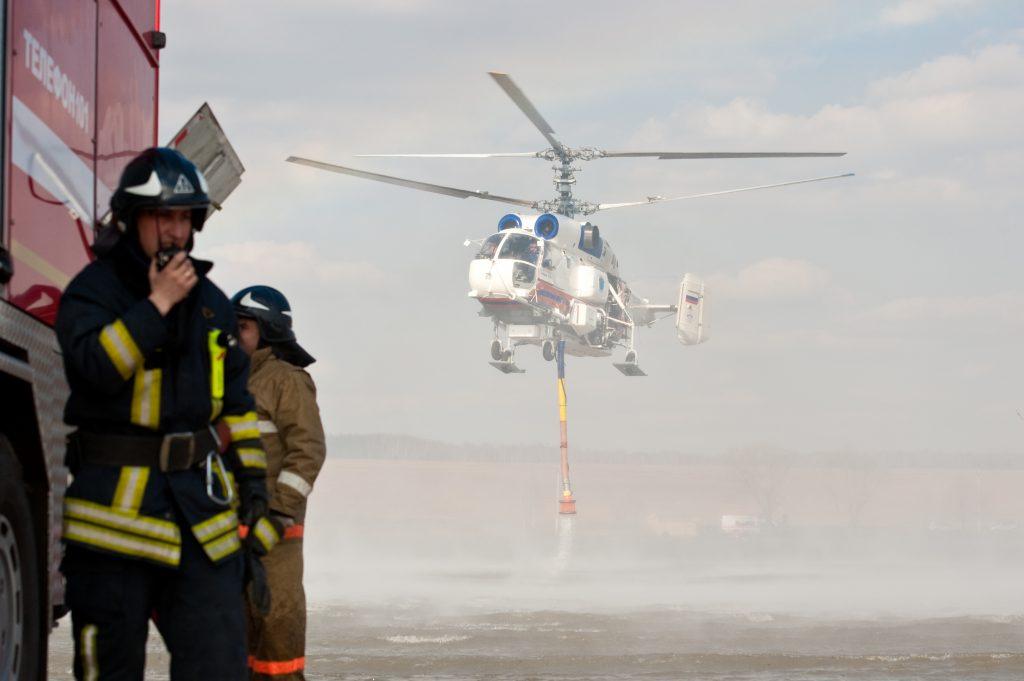 За четыре года в Новой Москве появилось свыше 30 пожарно-спасательных отрядов