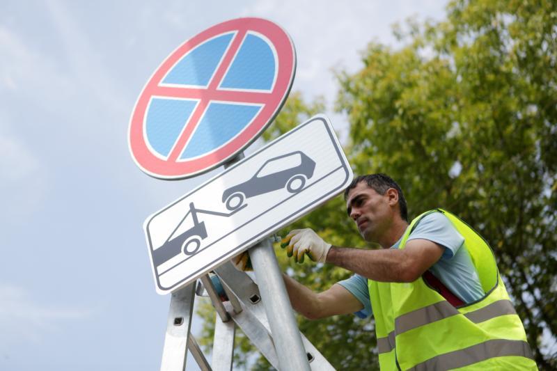Дорожные знаки в «Солнцево-Парке» установлены для беспрепятственной работы общественного транспорта