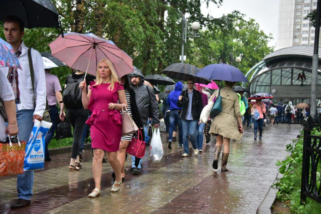 Погода на вторник: дождь и повышение температуры