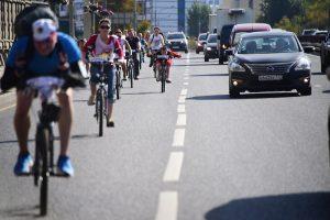 Вчера на площади Революции стартовал велопробег
