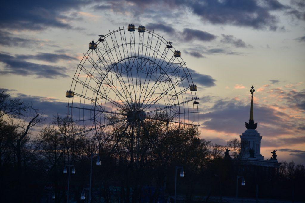Колесо обозрения на солнечных батареях заработает в Москве