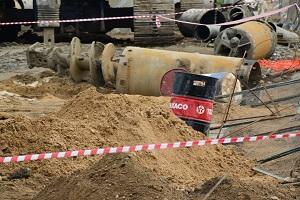 На Волгоградском проспекте обнаружили снаряд времен войны