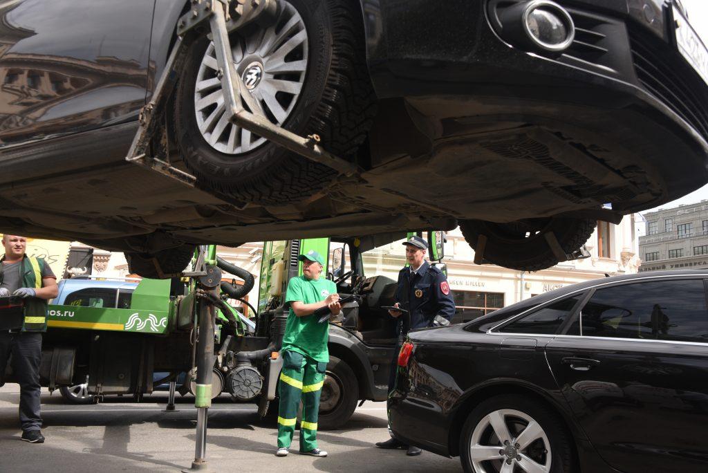 В Москве опубликован ТОП улиц с наиболее активными автоэвакуаторами