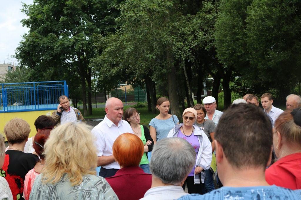 Главы администраций провели июльские встречи с жителями