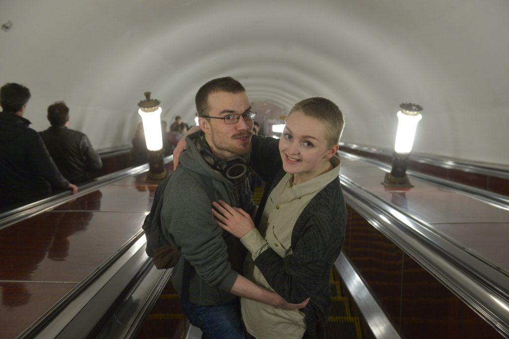 В День семьи Московское метро приготовило программу для влюбленных