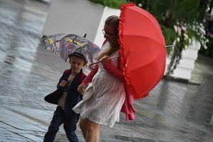 """Синоптики прогнозируют дожди с грозама. Фото: архив, """"Вечерняя Москва""""."""