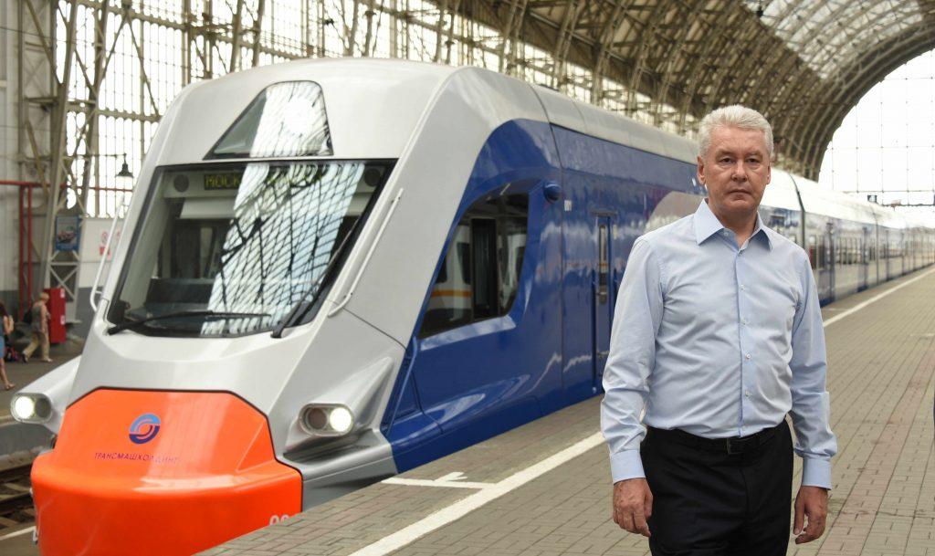 Мэр Москвы Сергей Собянин: На МКЖД запущено тестовое движение электропоездов