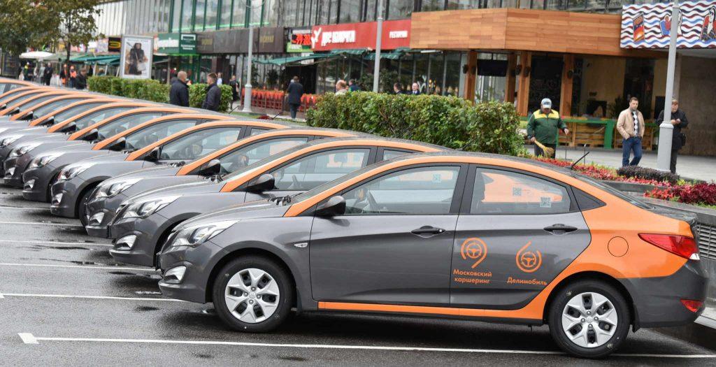 Автопарк московского каршеринга увеличился до 650 автомобилей