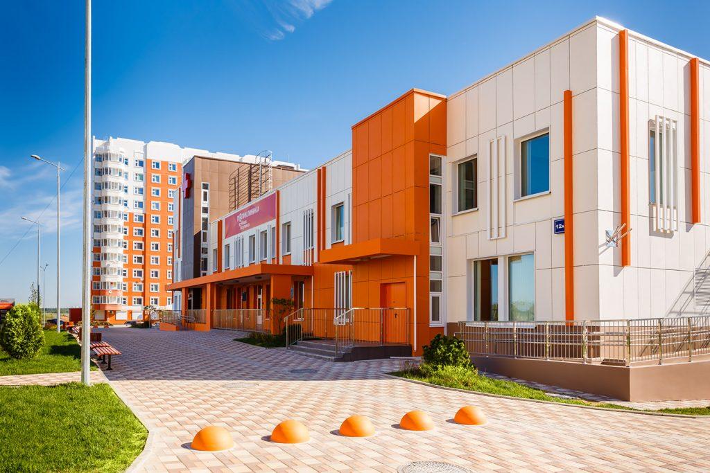 Поликлиника в Десеновском сможет ежемесячно обслуживать до 26 тысяч человек