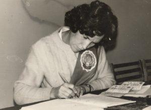 На регистрации молодоженов.Фото:из личного архива Е.Я. Красненьковой.