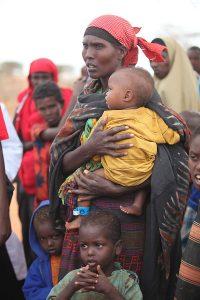 Беженцы их Сомали в Кении, 2011 год. Фото: Википедия.