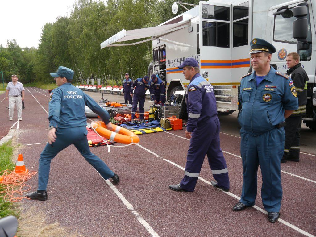 В детском лагере Щаповского провели учебную эвакуацию. Фото предоставлено МЧС по ТиНАО