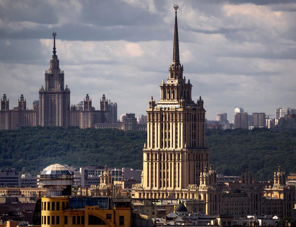 В четверг Москву вновь посетит гроза