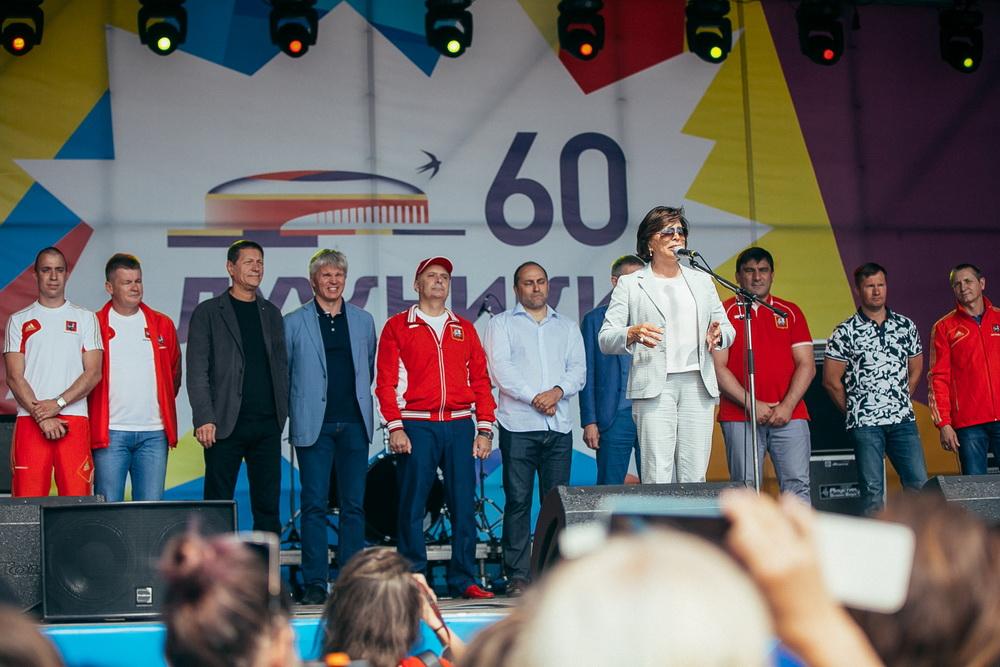 День спорта в Лужниках посетили около 200 тысяч человек