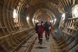 """Половина тоннелей метро от «Раменок» до «Рассказовки» построена. Фото: архив """"Вечерней Москвы""""."""