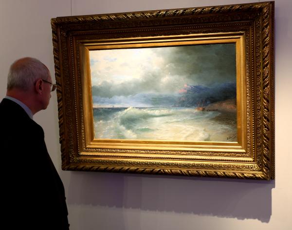 Третьяковская галерея ввела онлайн-продажу билетов на выставку Айвазовского
