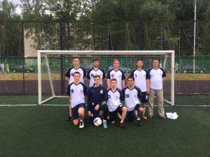 Щербинская команда по мини-футболу. Фото предоставила Дарья Смирнова.