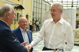 Мэр Москвы Сергей Собянин на встрече с доверенными лицами