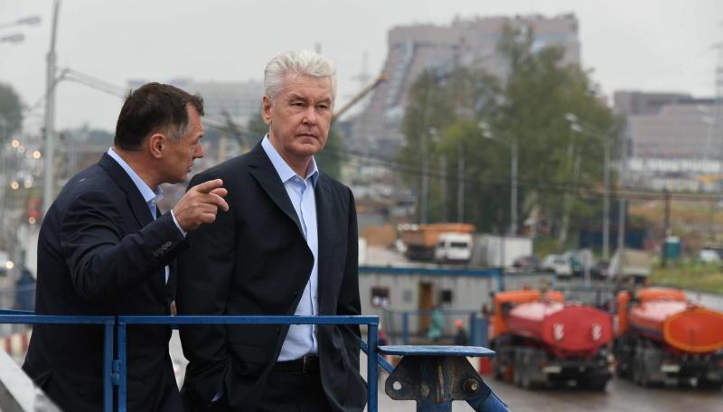 Собянин: Дублер МКАД в Новой Москве свяжет 4 крупные вылетные магистрали