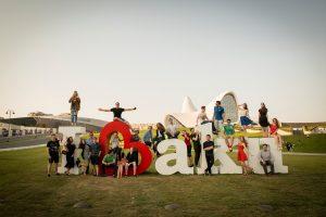 Делегация московских студентов в Азербайджане. Фото: Марья Тягунова.