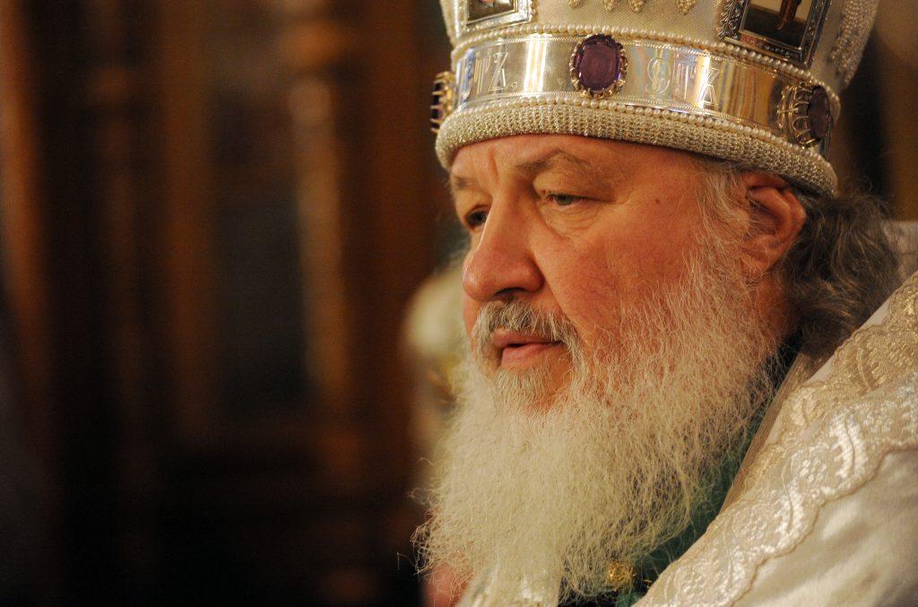 Патриарх Кирилл освятил восстановленный московский храм Иоанна Предтечи
