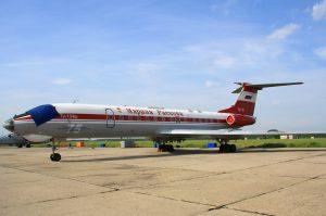 Ту-134Ш «Марина Раскова» на 1449-й авиабазе Тамбов. Фото: Википедия