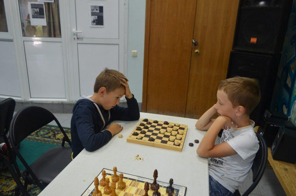 В Былово провели турнир по шашкам