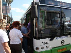 """Маршрут автобуса №890 продлили до «Юго-западной». Фото: архив, """"Вечерняя Москва"""""""