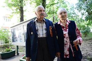 Во время праздничного мероприятия прошло чествование семей, проживших вместе более полувека. Фото: Наталья Феоктистова, «Вечерняя Москва».